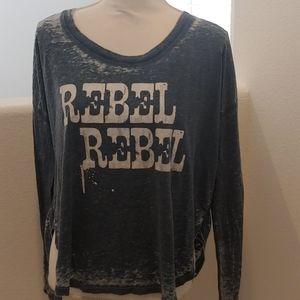 Chaser rebel long sleeve t shirt